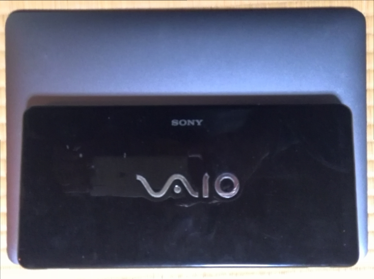 MacBook 12-inch and Vaio P